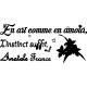 Sticker l'instin selon Anatole France