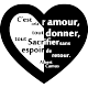 Sticker l'amour selon Albert Camus