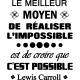 Sticker le meilleur moyen de réaliser l'impossible
