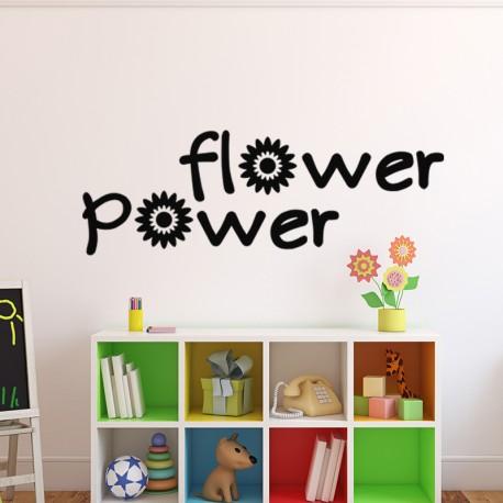 Sticker flower power