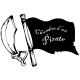 Sticker chambre d'un pirate