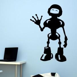 Sticker robot joyeux