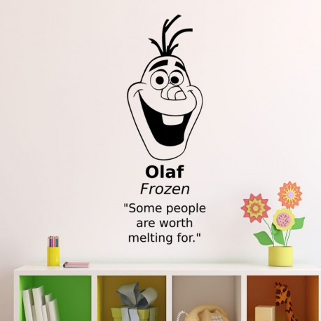 Sticker olaf frozen