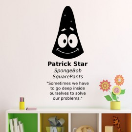 Sticker patrick star spongeBob