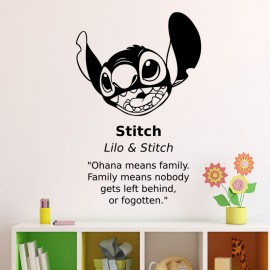 Sticker Stitch Lilo & Stitch