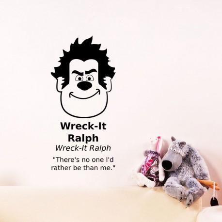 Sticker wreck-it Ralph
