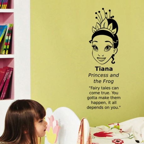 Sticker Tiana princess and the frog