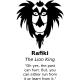 Sticker Rafiki dans The lion king