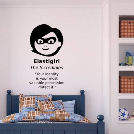 Sticker Elastigirl de the incredibles