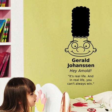 Sticker Gerald Johassen dans Hey amold