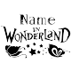 Sticker Alice in wondreland