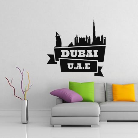 Sticker Dubai U.A.E.