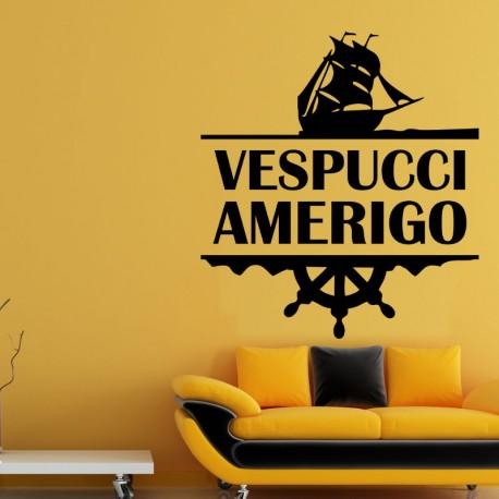 Sticker Vespucci Amerigo