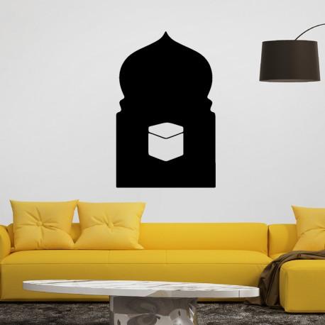 Sticker Boîte à travers une fenêtre arabe