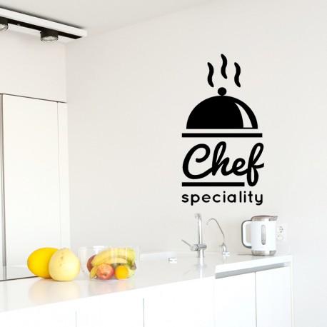 Sticker chef speciality