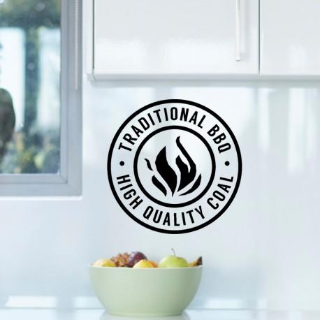 Sticker traditional BBQ