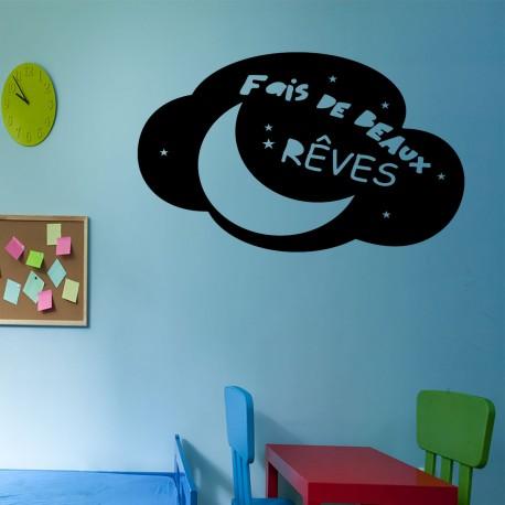Sticker faiss de beaux rêves