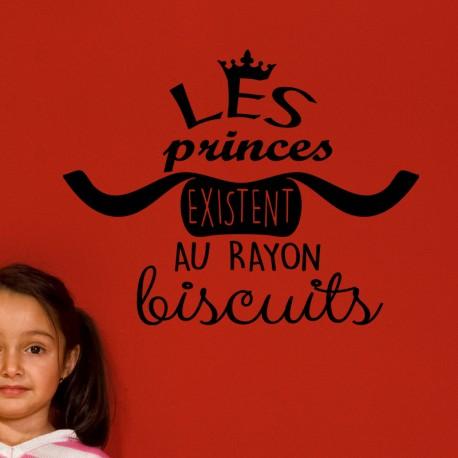 Sticker les princes existent au rayon biscuits