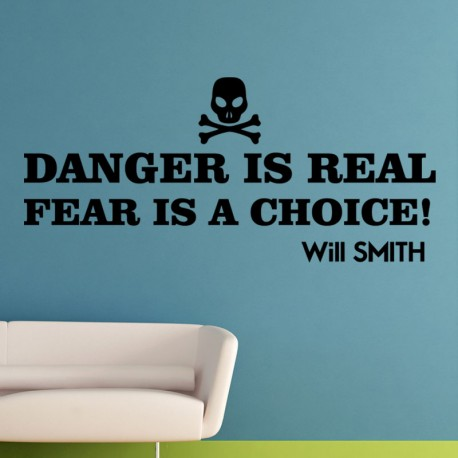 Sticker danger is real, fear is a choice!