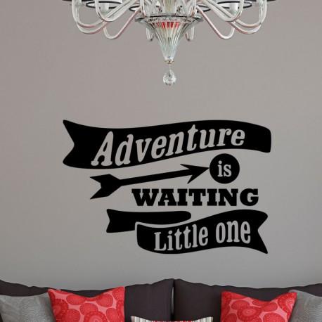 Sticker adventure is waiting little one