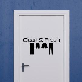 Sticker clean & fresh