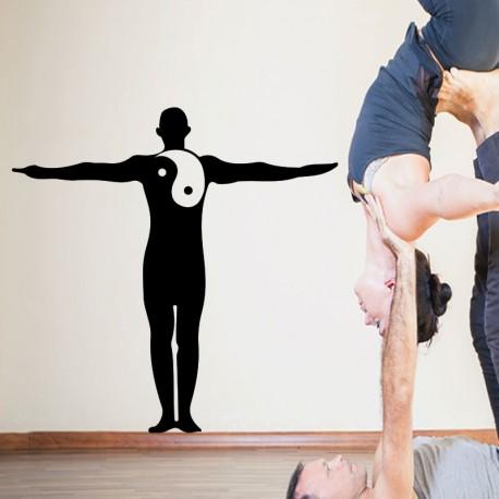 Sticker méditation yoga 2
