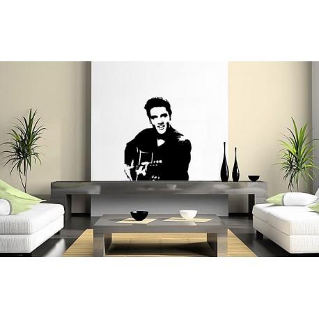 Elvis Presley - The King en sticker