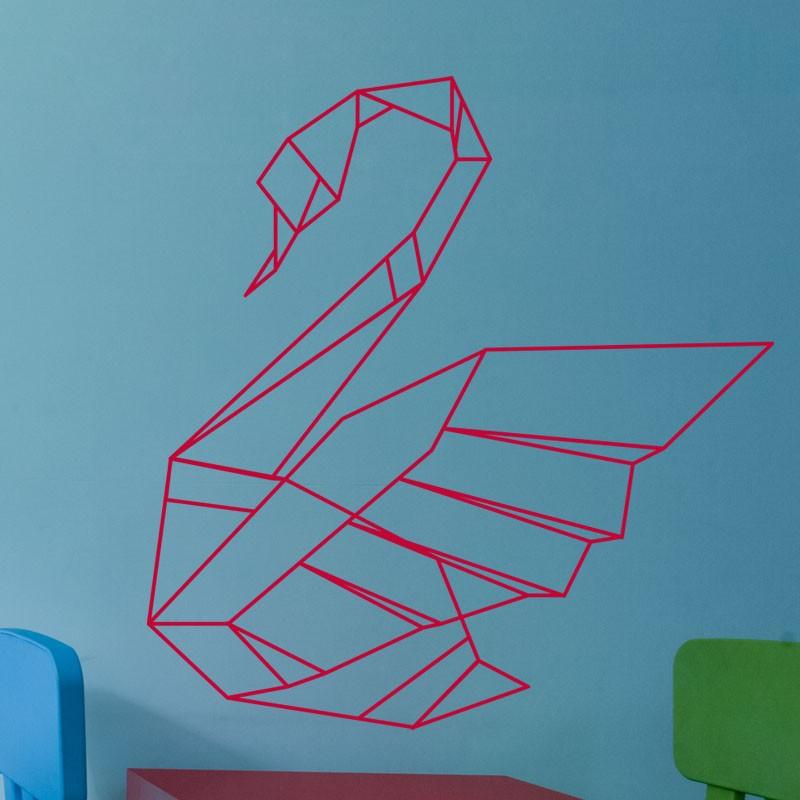 Sticker Signe En Origami
