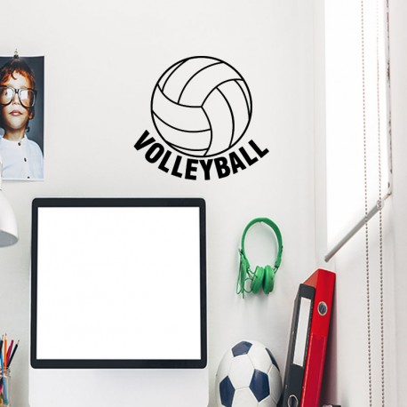 Sticker volleyball