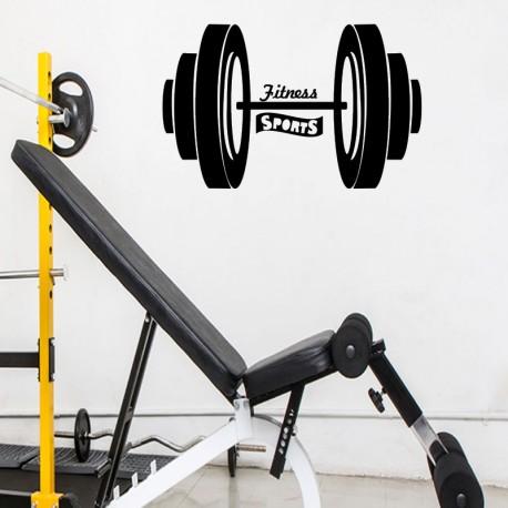 Sticker fitness sports