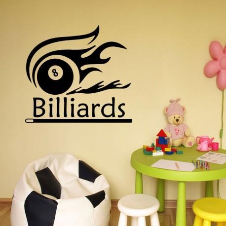 Sticker billiards
