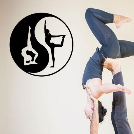 Sticker méditation yoga