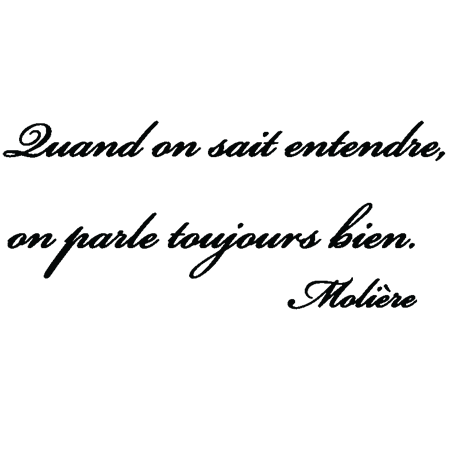 Sticker Citation De Moliere Stickers Citation Texte Opensticker