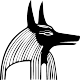 Sticker dieu Anubis