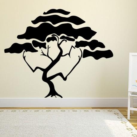 Sticker déco arbre