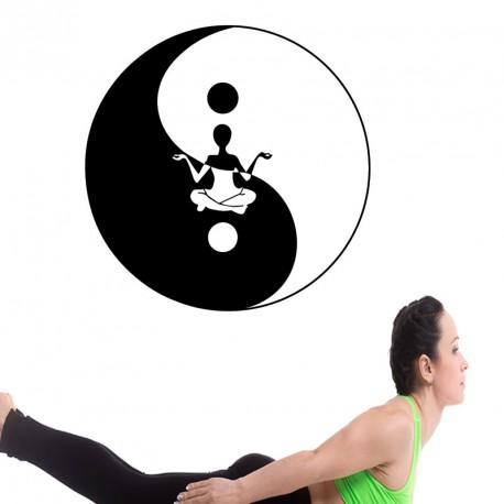 Sticker méditation yoga 3