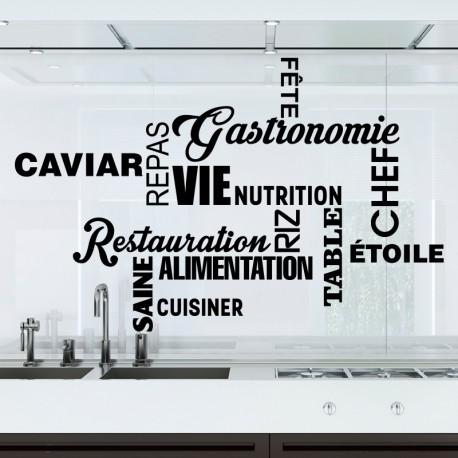 Sticker thèmes de cuisine