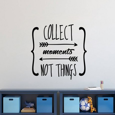 Sticker moments not things