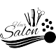 Sticker hair salon