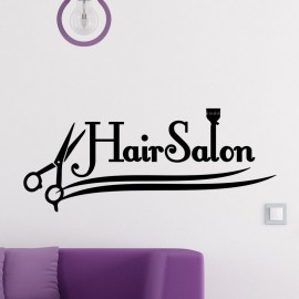 Sticker hair salon 2