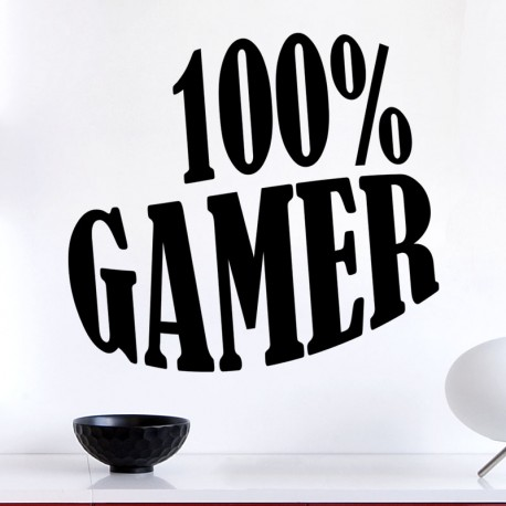 Sticker 100% gamer