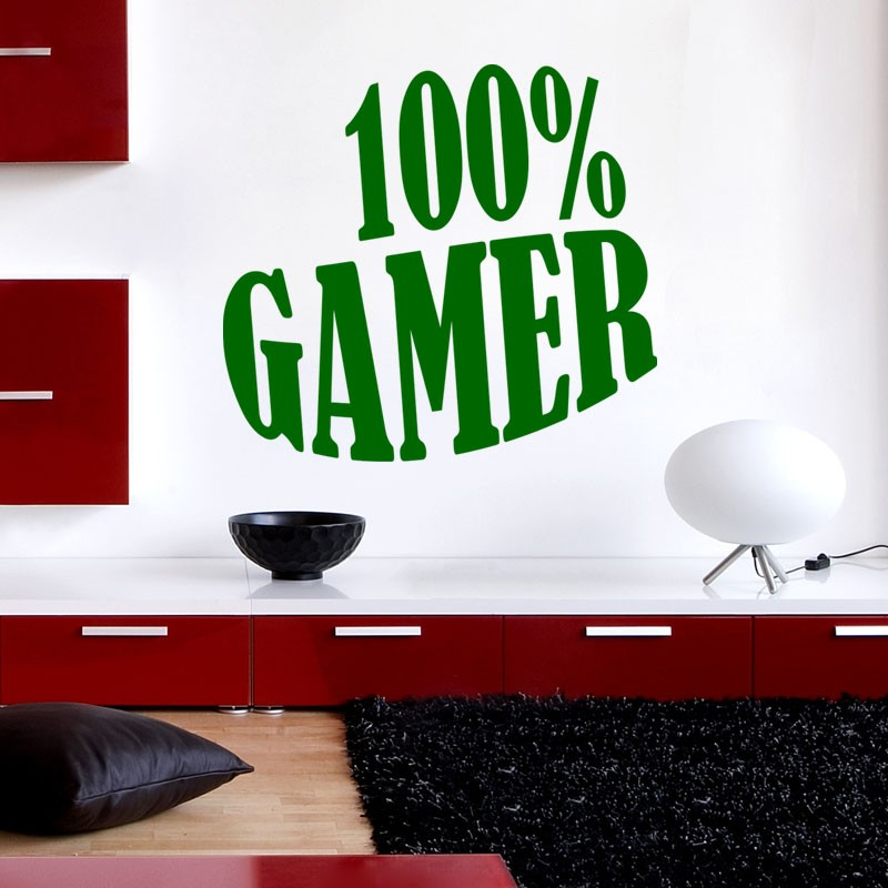 Sticker 100% Gamer