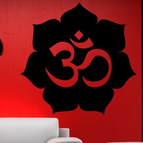 Sticker design fleur
