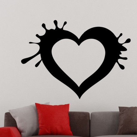Sticker design coeur