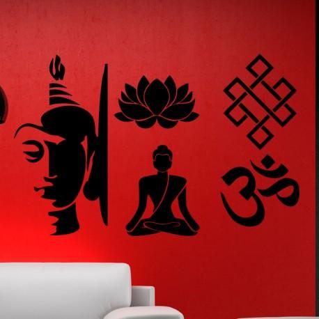 Sticker designs indiens