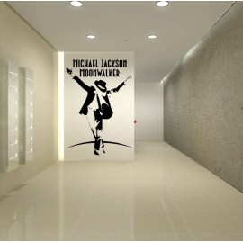 Sticker Michael Jackson Moonwalker