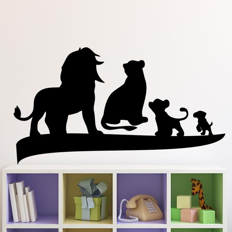 Deco Chambre Geek : Sticker le roi lion