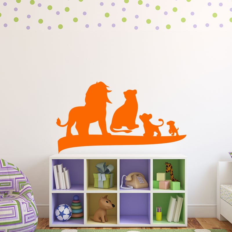 Sticker le roi lion