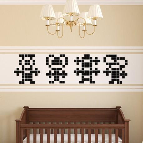 Sticker animation en pixel 2