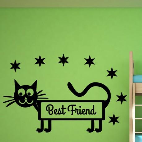 Sticker besr friend